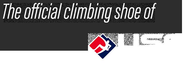 The Official Climbing Shoe of USA Climbing