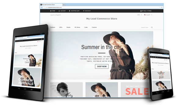 Ecommerce Software Solutions Lead Commerce